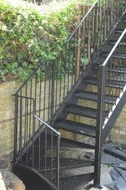 external handrails for steps uk. exterior steel staircase london external handrails for steps uk