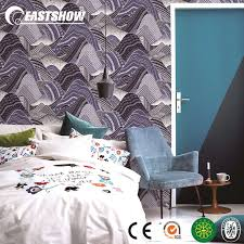 China Modern 3D Effect PVC Wallpaper ...