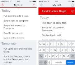 Lista De Tareas Begin Una Sencilla Lista De Tareas Para El Iphone Basada En