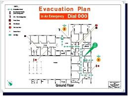 Evacuation Plan Sample Building Fire Evacuation Plan Template Templates Mzkymtu