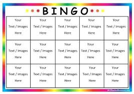 Excel Bingo Template Bingo Board Download By Games To Make Printable Game Template Free