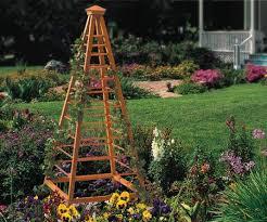 garden obelisk trellis. Diy Make A Garden Obelisk Trellis