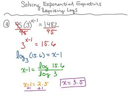 exponential equations not requiring logarithms jennarocca