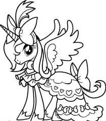 Unicorn Coloring Pages Online Free At Getdrawingscom Free For
