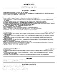 Wealth Management Analyst Looking For Resume Critique Resumes