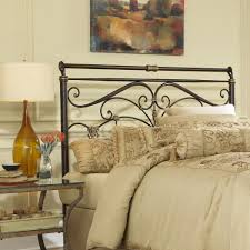king size metal headboard. Contemporary Metal Fashion Bed Group Lucinda California KingSize Metal Headboard With  Intricate Scrollwork And Sleighed Top To King Size S