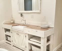 bathroom sink decor. Image Of: Chic Farmhouse Sink Bathroom Vanity Cottage 36 30 Home Design Ideas Decor E