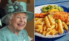 The Queen's posh fish and chips recipe ...