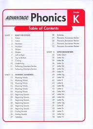 Ctp Advantage Phonics K