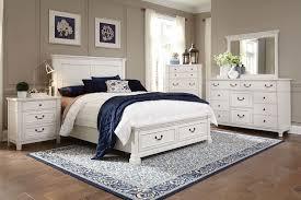 Taryn 4-Piece King Storage Bedroom Set - Antique White |