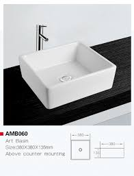 China Amb060 <b>Hot Selling European</b> Standard Ceramic Art Basin ...