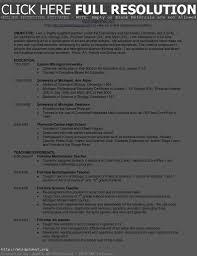 Objective Resume Teacher Resume Work Template
