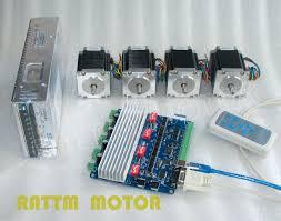 4 aixs usbcnc board nema23 dual shaft cnc stepper motor 76mm 270 4pcs 57 76 usb 电源