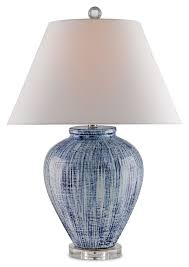 blue and white lamps. Currey \u0026 Company Blue And White Glazed Dutch Table Lamp Lamps M
