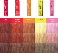 Sally Hair Color Chart Colorcharm Paints Wella