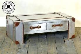 old trunk coffee table vintage trunk coffee table trunks com intended for as tables remodel old
