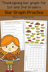 Bar Graph Worksheet: Thanksgiving! - Mamas Learning Corner