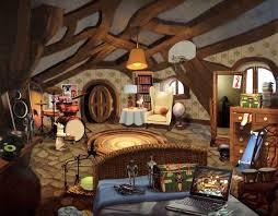 Colored Rabbit Bedroom