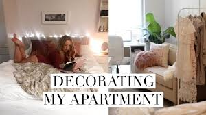 decorating my new studio apartment