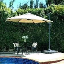 outdoor patio weighted umbrella base stand table umbrellas with parts e black garden alone grey ou