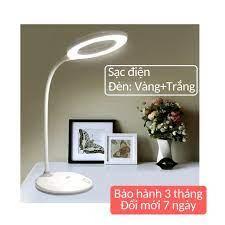LIKADO] Đèn học đèn bàn làm việc chống cận thị có sạc tích điện cổng USB di  chuyển linh hoạt - Đèn bàn Nhãn hàng No brand