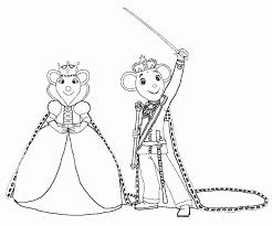 Small Picture 20 Free Printable Angelina Ballerina Coloring Pages