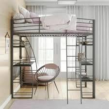 ماذا مقدر البازلاء loft bed and desk