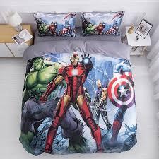 marvel bedding sets superhero iron man