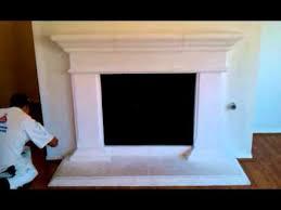 Verona Plaster Fireplace Mantel  Modern Fireplace IdeasCast Fireplaces