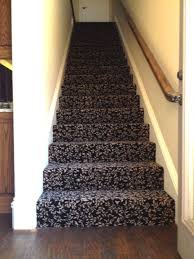 Patterned Stair Carpet Adorable Flooring Update Decorating On A Shoe String Replaces Tired Carpet