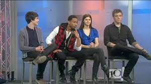 Percy Jackson & the Olympians: The Lightning Thief Cast Interview -  21/01/2010 - YouTube