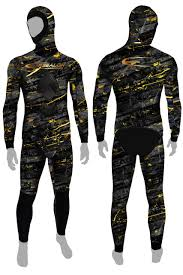 Epsealon Dark Fusion Camo Spearfishing Wetsuit 3 Mm