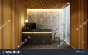 artwork for the office. Reception In Lobby For Artwork Of Hotel Or Office - 3D Rendering The W