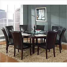 dining room artistic steve silver leona 9 piece dining room set traditional in sets from