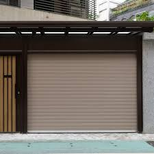 what are metal garage doors made of