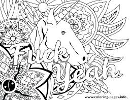 Art Coloring Pages Ble Doodle Art Coloring Pages Fuck Yeah Word Free