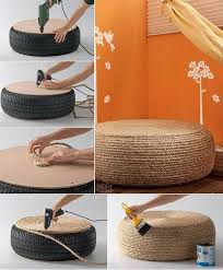 diy house decorating ideas impressive tires and ropes 2015 diy