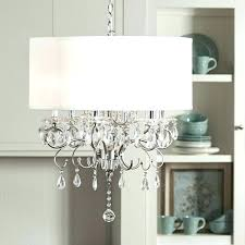 large drum shade chandelier hanging drum lamp home silver mist hanging crystal drum shade chandelier ping