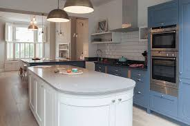 Beautiful wooden kitchen cupboards design ideas for comfortable kitchen Recycled Architecture Blue Kitchen White Cabinets Lovely And Transitional Sherry Hart Designs Intended For From Fuzesupcom Blue Kitchen White Cabinets Beautiful Cabinet Ideas Pertaining To 19