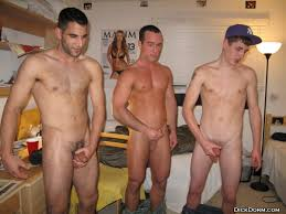 Nude college guys dorm