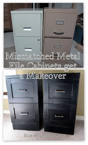 Old Metal Cabinets 25 Best Ideas About Painting Metal Cabinets On Pinterest File