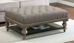 cermak glass coffee table with ottomans regarding coffee table with ottomans decorating