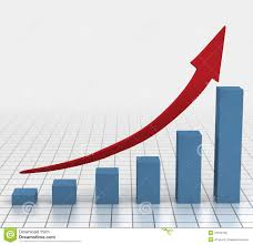 Business Chart Images Business Growth Chart Stock Illustration Illustration Of