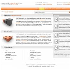 Free Html Website Templates Unique Internet Services v48 Template Free website templates in css