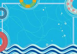 Layered Background Hello Cartoon Ocean Blue Psd Layered Background Hello In August