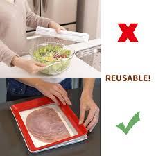 3pcs Food Preservation <b>Tray</b> Refrigerator <b>Clever Tray Creative</b> ...