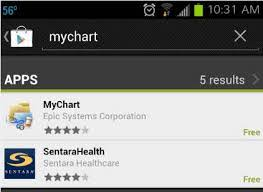 Sentara Mychart App For Iphone Sentara Mychart App Cmh