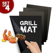 Flamen Heavy Duty <b>Non</b>-<b>Stick</b> BBQ <b>Grill Mat</b> Reusable Durable and ...