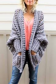 Chunky Crochet Sweater Pattern Free