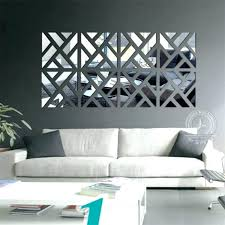 mirror wall decor set of three home sets uk